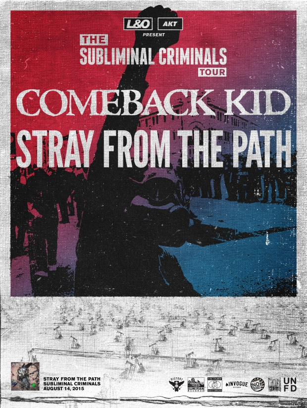 Comeback Kid Announce Fall Tour With Stray From The Path