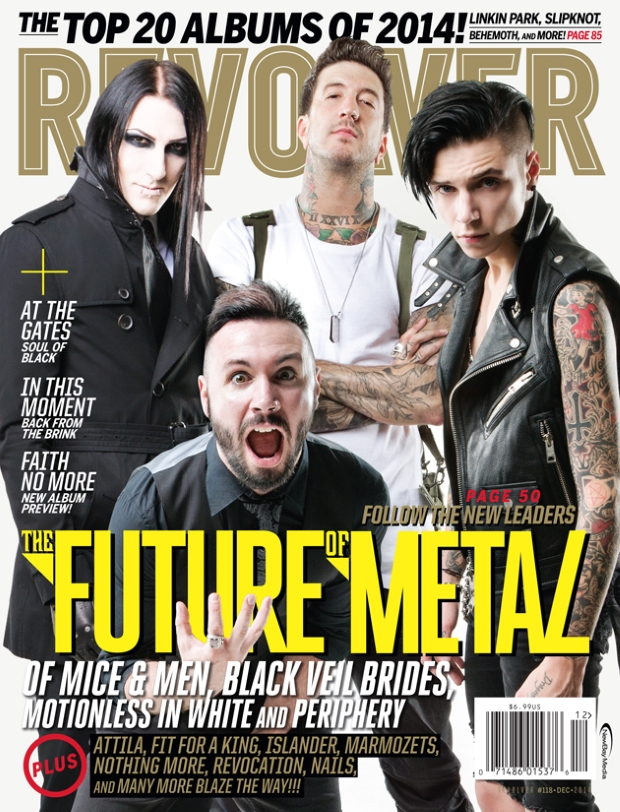 Periphery: The Future of Metal on Revolver Magazine Cover