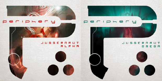 Periphery Reveal Artwork and Track Listing For Forthcoming Albums, Juggernaut: Alpha and Juggernaut: Omega